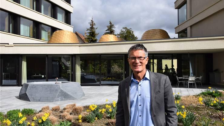 Als Heimvater angestellt, als Alterszentrum-CEO pensioniert: Christoph Schwemmer freut sich nun auf eine – zumindest vorerst – leere Agenda.