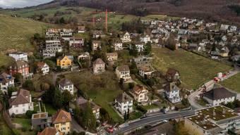 Einfamilienhausquartier in Ennetbaden. Die Gemeinde schliesst im Weltwoche-Ranking kantonsweit am besten ab.