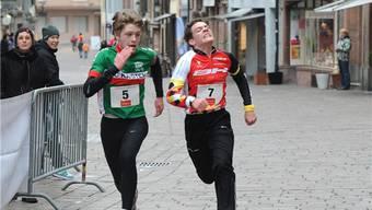 Rheinfelder Stadtlauf: Start der Elite und Junioren