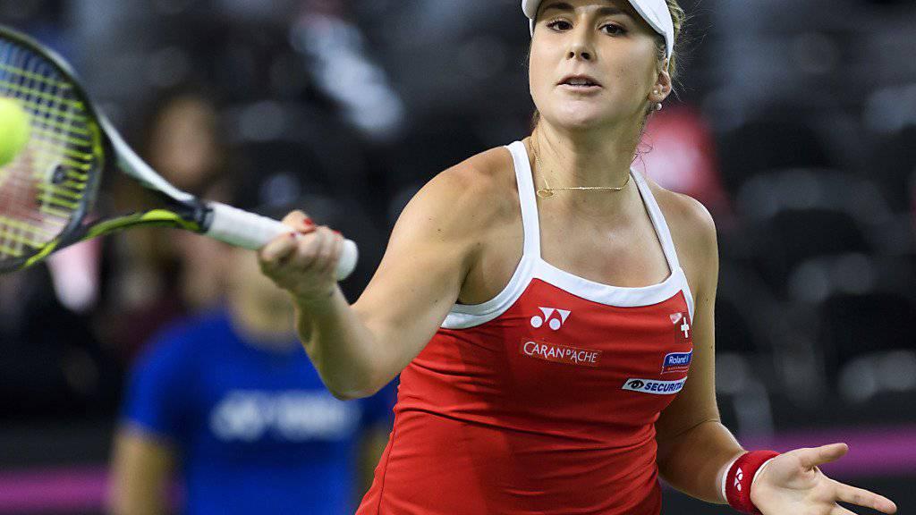 Belinda Bencic muss in Miami nicht durch die Mühlen der Qualifikation