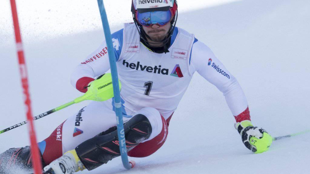 Luca Aerni sicherte sich in Davos seinen insgesamt vierten Schweizer Meistertitel