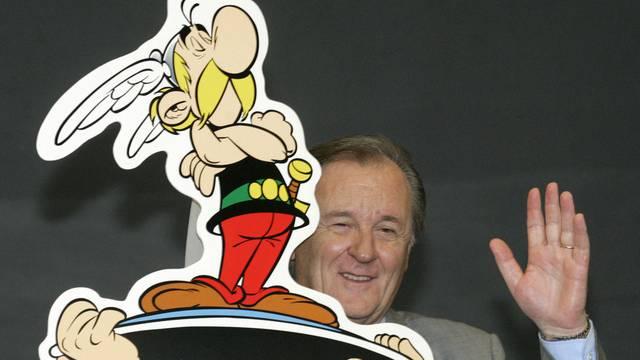 24. März: Albert Uderzo starb im Alter von 93 Jahren. Er hat Asterix und Obelix vor über 50 Jahren zusammen mit René Goscinny erfunden. (Archiv)