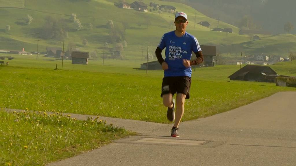 Virtueller Zürich Marathon mit Viktor Röthlin