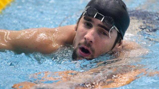 Kein guter Tag für Michael Phelps