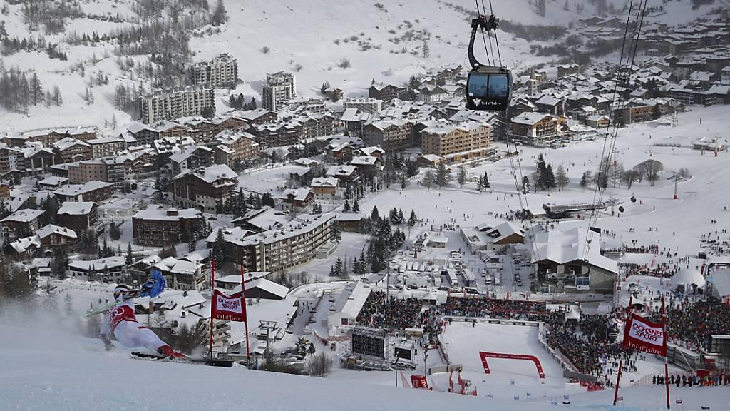 Männer-Slalom in Val d'Isère auf Sonntag verschoben