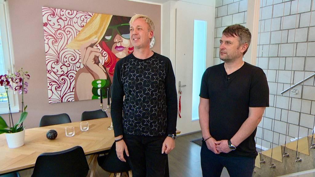TV-Auswanderer Tobias Bayer und Michael Paris