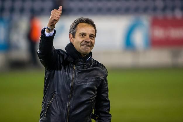 April 2017, kurz vor dem Rücktritt: Bernhard Heusler feiert seinen achten und letzten Meistertitel als FCB-Präsident.
