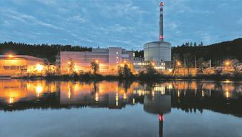 Da wächst nach der Abschaltung lange kein Gras mehr: Das Kernkraftwerk Mühleberg im Kanton Bern, aufgenommen im Juni.