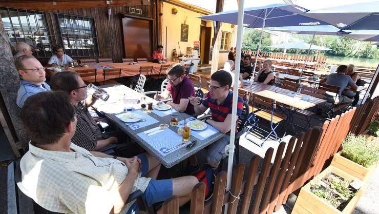 Ein Geheimtipp, den man nicht auf Anhieb findet: Das Restaurant Auhafen in Muttenz.