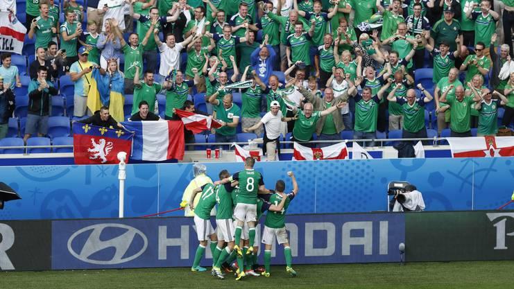 Erster EM-Sieg für Nordirland.