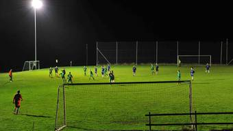Fussballplatz Fellenmoos ob Mümliswil.