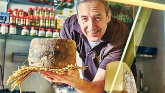 Marcel Durizzo über das Käse-Spezialitätengeschäft Chäsegge in Baden:  «Es war Liebe auf den ersten Blick.»