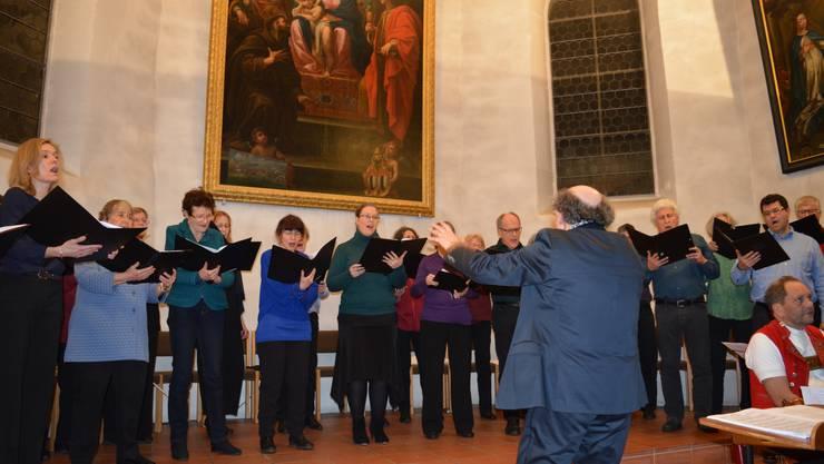 Der Kammerchor Akusma begeisterte das Publikum mit einem abwechslungsreichen Programm