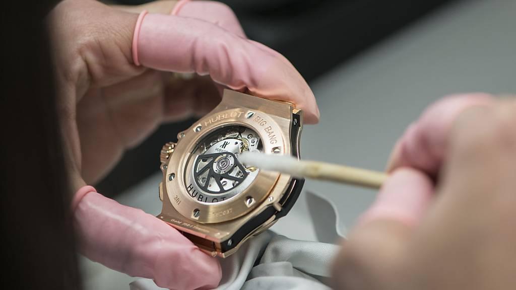 Schweizer Uhrenexporte legen im August erneut zu
