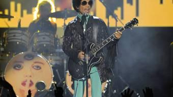 Prince während eines Auftritts im Mai 2013
