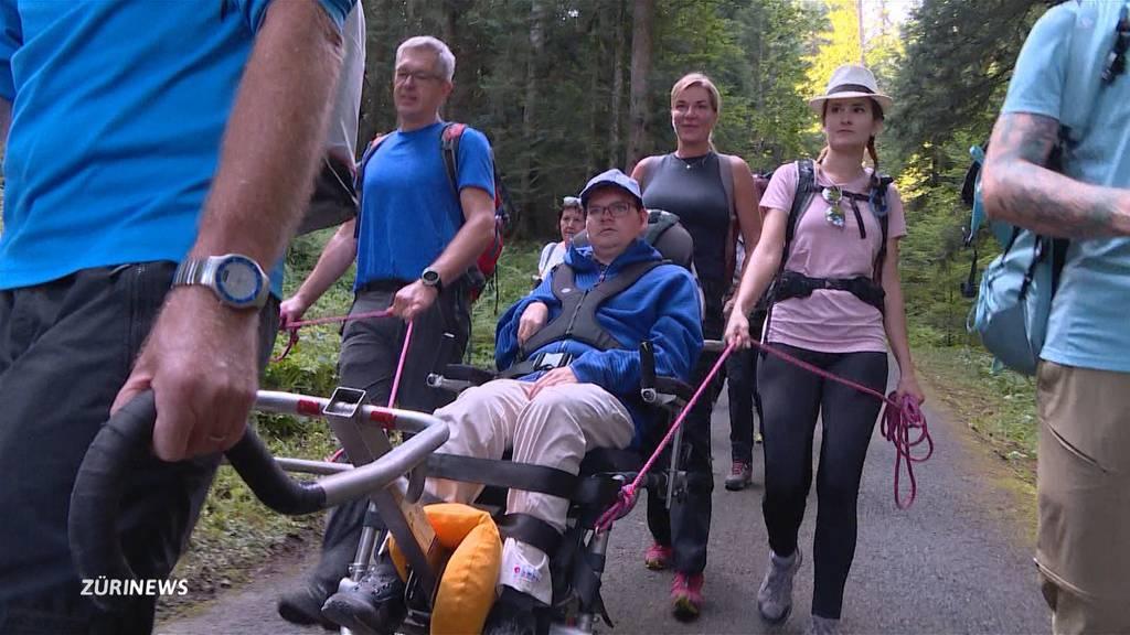 Rollstuhl-Trekking zum Stöcklichrüz