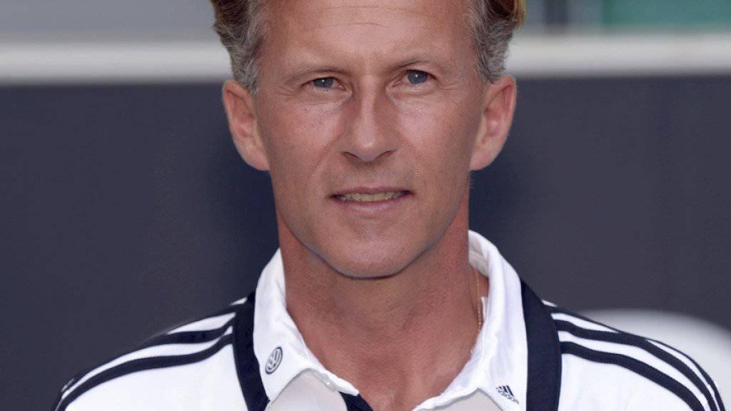 Andries Jonker in einer Aufnahme zu seiner Zeit als Wolfsburgs Assistent 2013