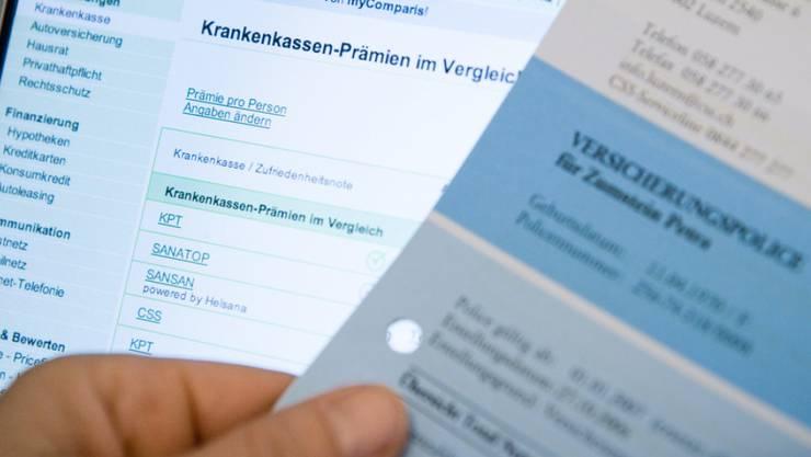 Die Zahl der Wahlfranchisen soll sinken - und auch die Prämienrabatte werden reduziert. (Symbolbild)