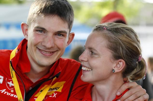 Im OL fand Fabian Hertner die grosse Liebe: Gemeinsam mit Ex-Nationalkaderläuferin Sara Lüscher gründete er eine Familie.