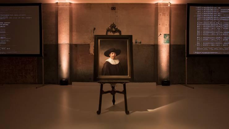 """""""The Next Rembrandt"""" sieht aus wie ein Original des holländischen Meisters, wurde aber von einer KI entworfen."""