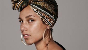 Fühlt sich befreit, seit sie kein Make-up mehr trägt: Alicia Keys.