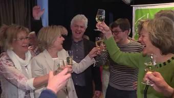 Grund zum Feiern für Linke 2. Wahlgang der Solothurner Regierungsratswahlen 2017