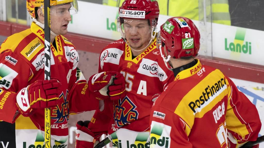ZSC Lions rücken auf Platz 2, Biel gewinnt Berner Krisengipfel