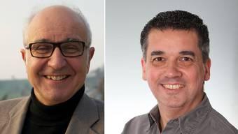 Reinhard Scherrer (CVP) und Oliver Brun (parteilos).