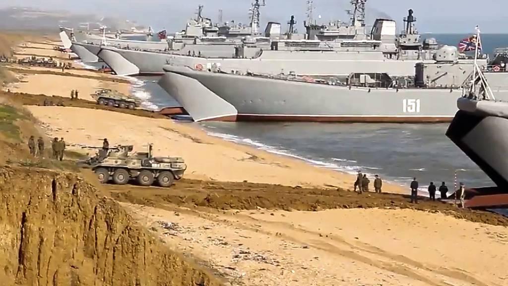 Russland will Seegebiete sperren - Kritik aus dem Westen
