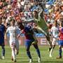 Am Ende rettete Torhüter Jonas Omlin dem FC Basel den knappen Sieg