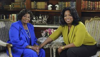 Katherine Jackson (l) und Oprah Winfrey