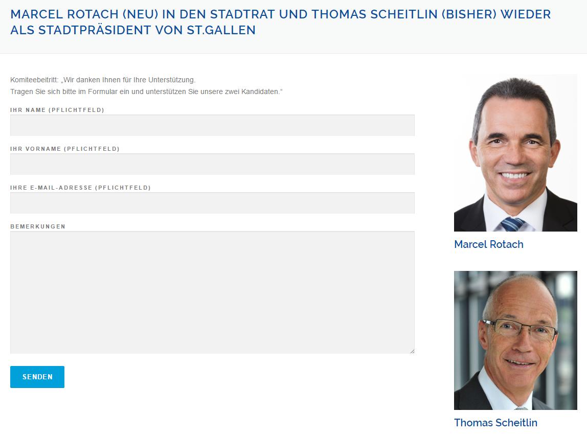 Screenshot www.marcel-rotach.ch