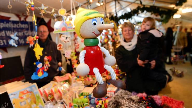 Holzspielzeuge haben Charme, Pinocchio ist ein gutes Beispiel dafür.