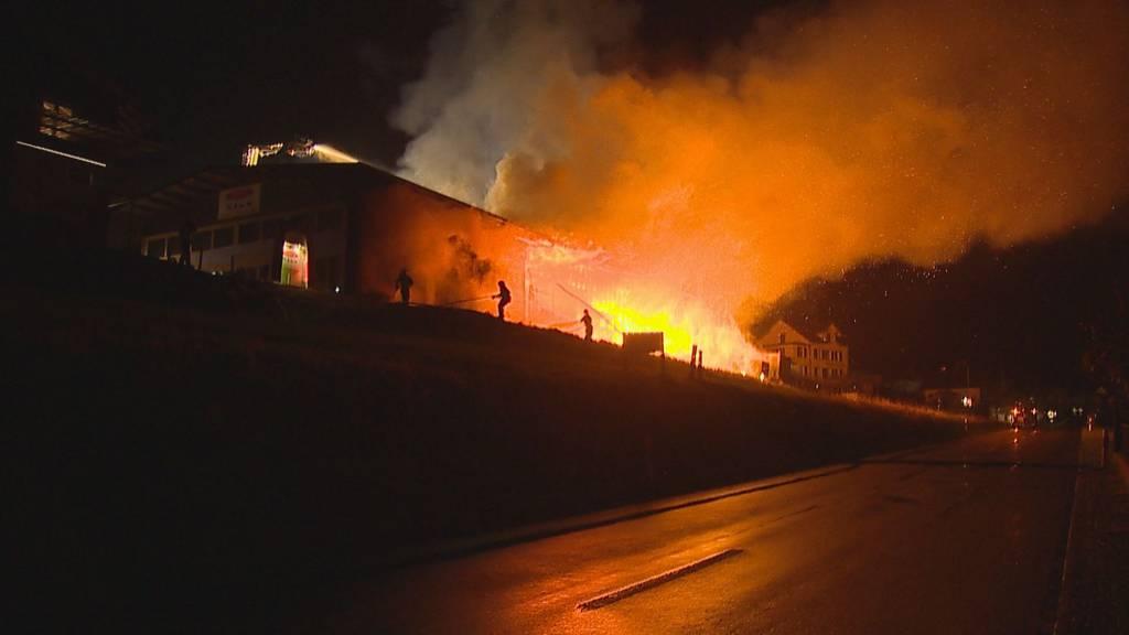 Im Thurgau brannten zeitgleich zwei Firmen – war es Brandstiftung?