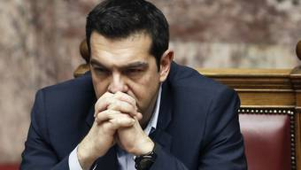 Düstere Wolken am griechischen Himmel: Regierungschef Tsipras