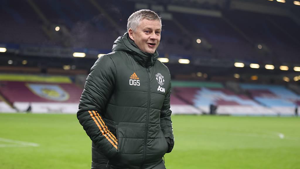 Coach Ole Gunnar Solskjaer stand bei Manchester United zuletzt nur selten alleine da