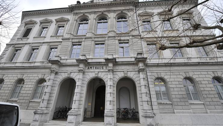 Die Richterämter (hier das Amtsgericht Solothurn) sind überlastet.