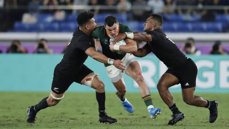Für Südafrika gab es kein Durchkommen gegen Neuseeland.