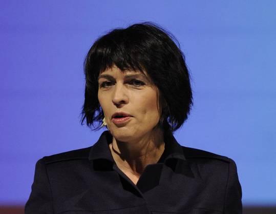 Bundespräsidentin in spe Doris Leuthard. (Bild: Meier)