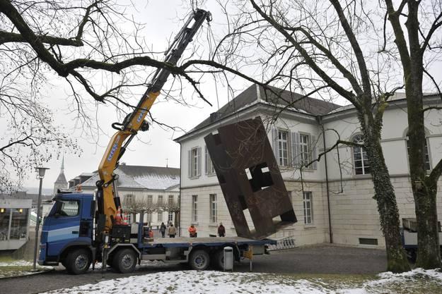 Beat Zoderers «Zimmer» wird 2010 temporär nach Aarau gezügelt
