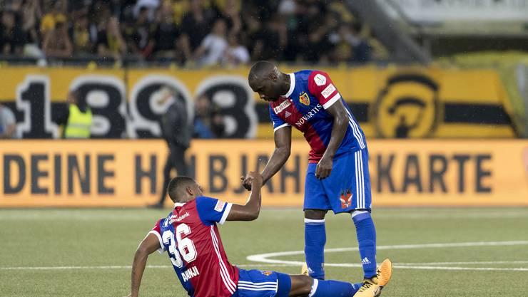 Klicken Sie sich durch die Bilder der Saison: 1. Spieltag: Zum Auftakt gab es in Bern eine 0:2-Niederlage.