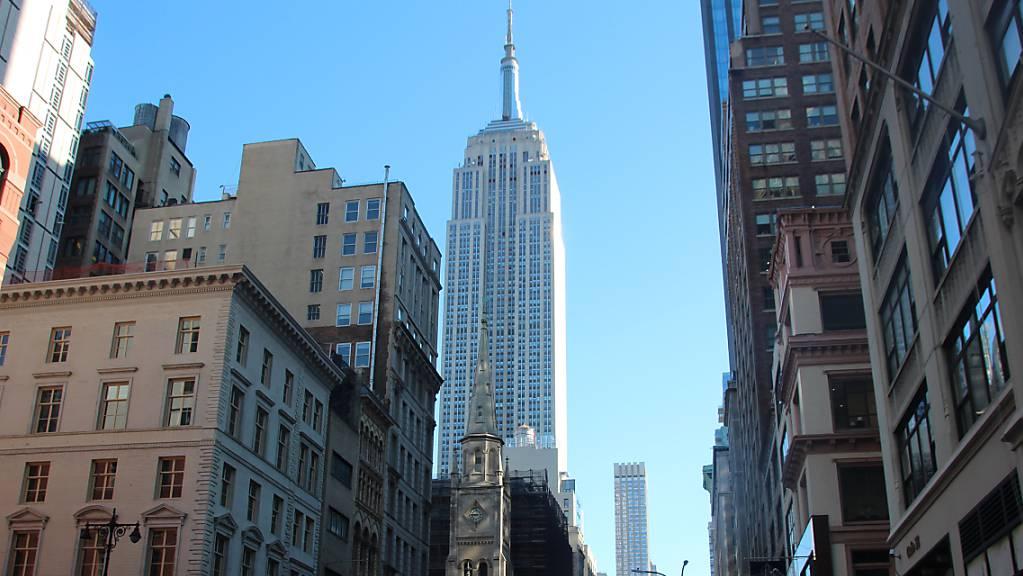 Das Empire State Building gehört zu den ältesten, höchsten und beliebtesten Wolkenkratzern New Yorks.