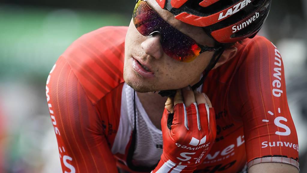Marc Hirschi muss auf den Start an der Flèche Wallonne verzichten