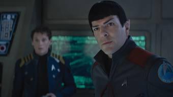 Spock auf der Kommandobrücke in der Enterprise: In «Star Trek Beyond» stehen wieder die Figuren und Dialoge im Zentrum – nicht allein die Action.