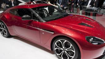 Aston Martin V12 Zagato am Genfer Auto-Salon 2012