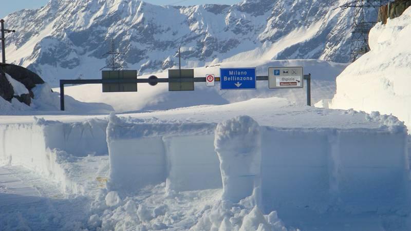 Jetzt hat auch der Oberalp Wintersperre