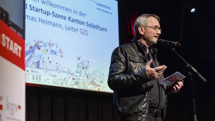 Thomas Heimann eröffnet die Neugründer-Challenge
