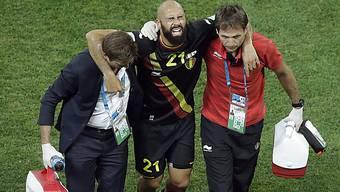 Vanden Borre verletzte sich im Spiel gegen die Südkoreaner