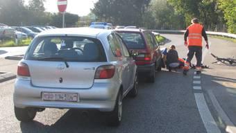 84-jähriger Velofahrer ist in Rothrist schwer verunfallt