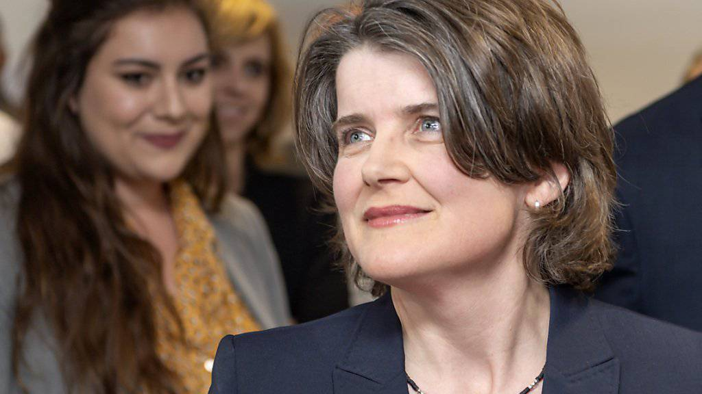 Mit Kathrin Schweizer kehren die Sozialdemokraten zurück in die Baselbieter Regierung (KEYSTONE/Georgios Kefalas)